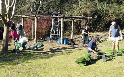 Wheelchair access at the Centre for Ecotherapy