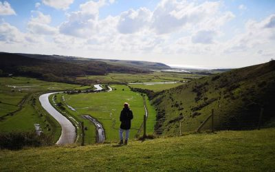 Pilot ecotherapy sessions across the South Downs with the National Trust